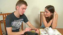 Skinny Hot Brunette Teen gets fucked and got a ...
