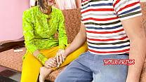 देसी प्रिया ने अपने भाई को अपनी गर्लफ्रेंड को च...