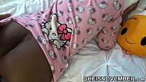 Taboo Step Brother Sneaking Into Step Sister Room While She Is Sleep , Undressing The Butt Flap On Her Pajamas , Jacking Off To Her Big Soft Ass , With Big Cock Sheisnovember Reality Porn Thumbnail