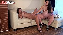 FUN MOVIES Amateur and Pregnant German Lesbians Thumbnail