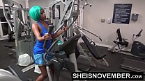 Fuck In The Gym By A Stranger Anal & Blowjob Young Msnovember POV Public Sex صورة
