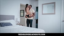 Wife really enjoying big fat black cock