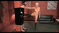 Blonde preciouss mistress torturing sex slave in extreme female domination Thumbnail