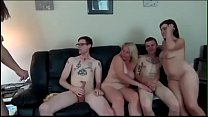 Watch homemade gangbang with horny amateurs preview