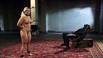 Big boobs blonde MILF slave Angel Allwood with ...