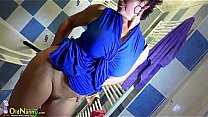 OldNanny Busty_granny is doing striptease Thumbnail