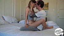 Amateur Rough Creampie Sex Tape with Kristen