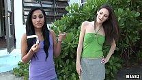 WANKZ- Teen Lez Monica Seduces Kim Kennedy's Thumb