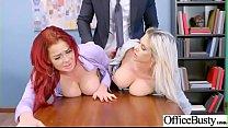 Hard Sex Tape In Office With Naughty Busty Hot Girl (Rachel RoXXX & Skyla Novea) video-26's Thumb