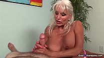 Watch VERY Large boob MILF Blowjob TORTURE preview