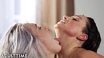 Cheating Lesbian Squirts for Her Hot Busty Friend