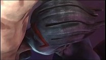 Mass Effect Samara Blowjob Thumbnail