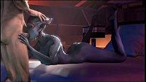 Mass Effect Samara Blowjob Thumbnail