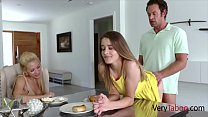 Daughter Fucks Dad To Make Him Not Divorce Mom
