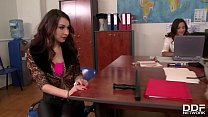 Intense ass fucking at the office makes Amirah & Stacy Snake scream & cream's Thumb