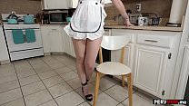 Redhead stepmommy is horny for her big dick ste...