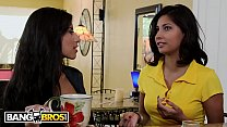 BANGBROS - MILF Soffie Has Threesome With Step Daughter Jade Jantzen And The Boyfriend Thumbnail