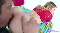 Anastasia Knight shows off her cock slurping skills Thumbnail