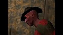 3D Animation: Nightmarish Dream 1