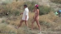 Man and nude women caught by voyeur pissing on ...