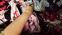 Somebody keeps sneaking into my room at night and stealing all my panties!! *Shorter*'s Thumb