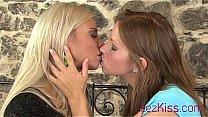 Sexy euro girls kissing Thumbnail