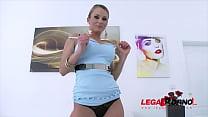 Laura Crystal 5on1 mini gangbang with DAP SZ894