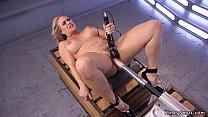 Big tits blonde Milf gets orgasm with Hitachi v...