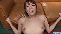 Hot japanese girl Hitomi Oki in rough sex scene
