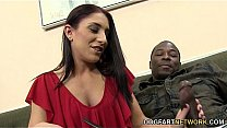 Mischa Brooks Takes A Black Cock In Her Ass