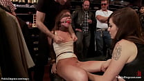 Small tits bound and blindfolded slut Maddy O R...