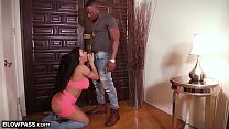 Big Titty MILF August Taylor Sucks Big Dick to Jizzing in Mouth's Thumb