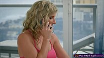Watch Awesome blonde MILF Cory Chase doing anal with a bellboy preview