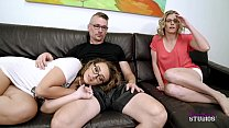 Watch Fucking My Daughter behind her Moms Back - Britt James preview