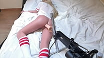 Hot Sex Doll Fucked By Fucking Machine! Nice'n'...