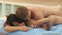 Exotic Asian Love Outdoors