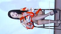 公众号【福利报社】性感熟女红色包臀诱惑舞蹈