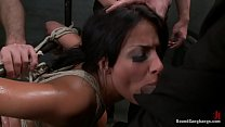 anissa kate tied up and_fucked rough and hard Thumbnail