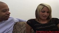 Young blonde Courtney Simpson filled with BBC Thumbnail