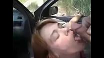 milf getting a facial cum in public صورة