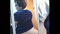 Fat ass riding black dildo缩略图