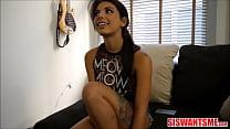 Young Petite Small Tits Italian Stepsister Gina Valentina POV's Thumb