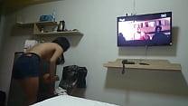 Thai hooker in a hotel ภาพขนาดย่อ