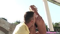 Watch Twistys - (Aniko, Choky Ice) starring at Outdoor Slammin preview