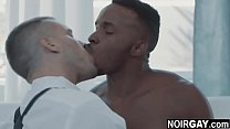 Watch White missionary & ebony gay sinner interracial gay sex preview