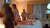 Tattooed White Slut gets GANGBANG with Facial a...
