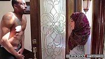 Hot arab babe rammed hard by her neighbors big black dick's Thumb