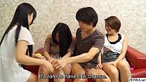 Watch Only japan friends: Japanese amateurs having group sex party with subtitles preview