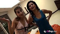 Kika and Laurita, 18 and 21 years old, are alre...