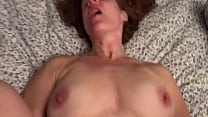 Watch Roommate Fucks His Redhead, Natural Big-Titted, Moaning, Cheating Wife GF preview